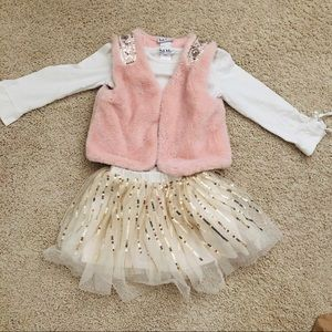 Nicole Miller Girls Outfit size 4